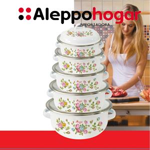 Enlozado Aleppo Floral
